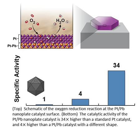 Platinum-Lead Core/Shell Nanoplates are High-Performance, Highly-Stable Fuel Cell Catalysts