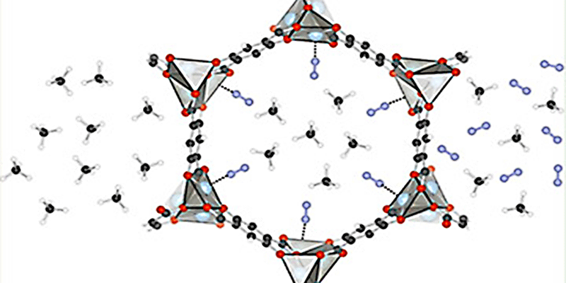 Computational Design of a New MOF for N<sub>2</sub>/CH<sub>4</sub> Separations